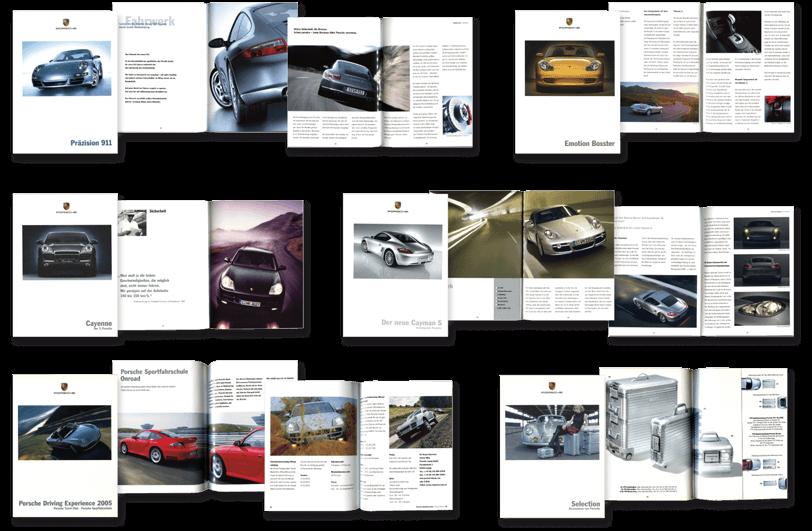 Porsche Literatur
